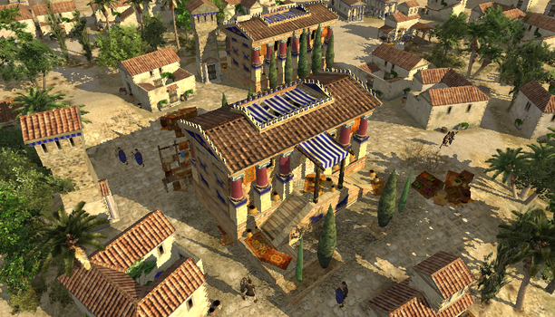 Seleucid Town Center by LordGood