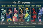 Hat Dragons by Mr-Stot