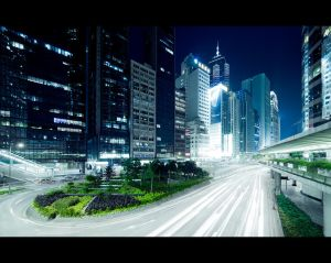 urban lightstream by Fersy