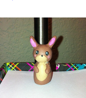 Polymer Clay Bunny by XAngelkittehX