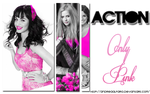 Action Only Pink by AndreaAlfaro