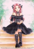 Gothic Lolita Eve - For PinPin by LeoAndBan
