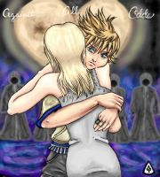 Roxas and Namine by whitexsaucer