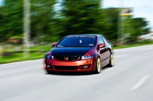 rolling civic si by drifter542