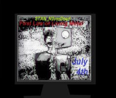 Stan N3verDead First Law of Living Metal July 4th by MissSallyCabbage