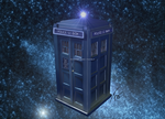 the TARDIS by Nanaxxis-inxxthe-Uk