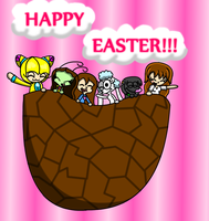 HAPPY EASTER EVERYONE :D by LillyTheSeedrian