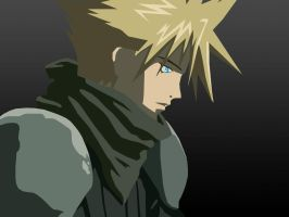 Cloud Strife by Sansana