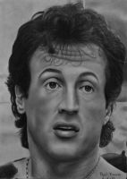 Sylvester Stallone by Polonx