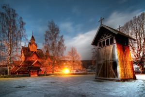 Stavechurch by HansHaram