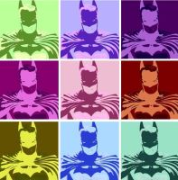 Batman 9 Panel Pop Art  3 by TheGreatDevin