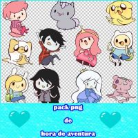 pack png de Hora De  Aventura by patii123