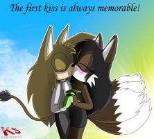 First Kiss by DiscoSaeba