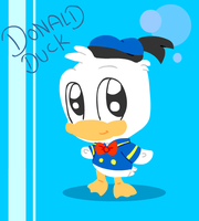 Donald Duck Chibi by LeniProduction