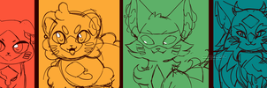 New Breeds [preview] (Peingatto-Cats) by Sushirolled