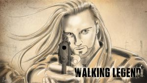 THE WALKING LEGEND by Roselyne777