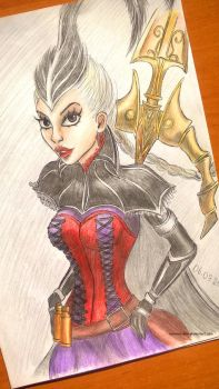 ~Aristocrat Vayne splashart ~ by LiseWasTaken