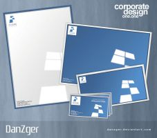 Corporate Identity OneDotOne by danzger