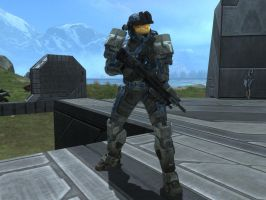 Chris McLean in Halo Reach by KATTALNUVA