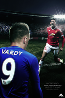 BPL: Leicester City vs Man Utd 15/16 by MaRaYu9
