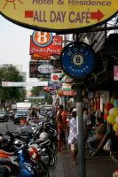 Streets of Pattaya by jelloconcoction