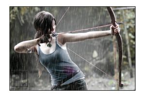 Lara Croft - Tomb Raider : Sacrifice is a choice by emptyfilmroll
