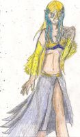 belly dance celeste by kingofthedededes73