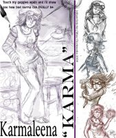 CWKS:Character Designs: Karma by fastclickchic0413