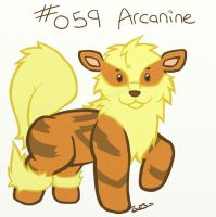0059 - Arcanine by Electrical-Socket