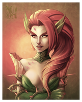 Rise of the Thorns, Zyra by PaolaPieretti