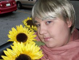 APH:CosRuss:CarsandSunFlowers by AmaranthBlacktree