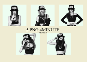 5 Png 4minute by KwonLee