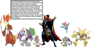 Doctor Strange's Pokemon team