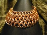 euro four in one copper bracelet by BacktoEarthCreations