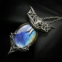 VARHANTRAX silver and labradorite by LUNARIEEN