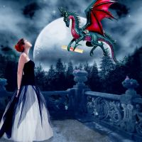winged messenger by katmary
