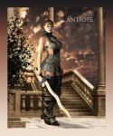 Cyber Joke 37: Antiope and the Lost Tribe by adorety