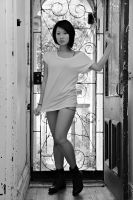 Lili in the Doorway 1 by ftsf