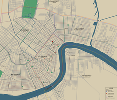 City of New Orleans, 1933 by TheAresProject