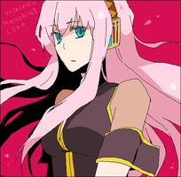 Megurine Luka by CATGIRL0926