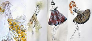 Fashion Illustrations by HesterTatnell