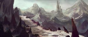 Mountain range by Saruman-sLP