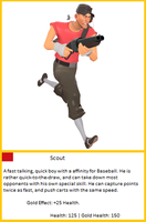 TF2 Trading Card: -Scout- by UltimaWeapon13