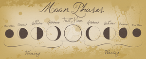 Moon Phases by Izzabell