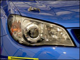 WRC Sti headlight by FuseEST