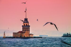 Maiden Tower by m-eralp