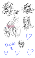 Night Doodles by Hime-Bear