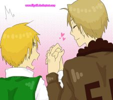 World is mine APHetalia USxUK by lilyz12