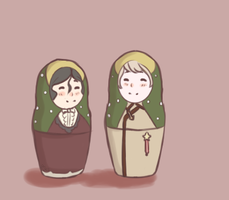(APH) Matryoshka by TerracottaVulture
