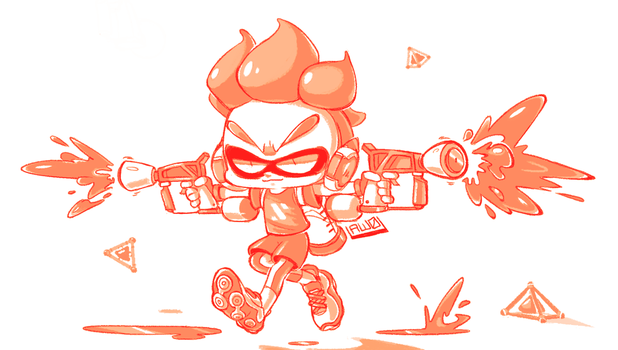 Squid Kid by Aw0